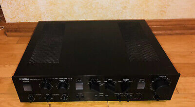 Vintage YAMAHA C-4 STEREO CONTROL AMPLIFIER  Preamplifier -Tested Working Preamp