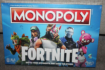 MONOPOLY Fortnite Edition Board Game Original Sealed Box