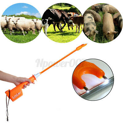 Rechargeable Electric Livestock Cattle Pig Prod Handle Animal Stock Prodder Farm