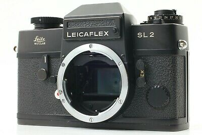 【NEAR MINT】Leica Leicaflex SL2 SLR 35mm Film Camera Black Body Leitz From Japan