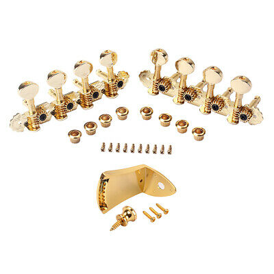 Faber TPI-MGG 8mm Tailpiece Inserts Bushings  Steel Gold Plated Gloss TPI-M-GG