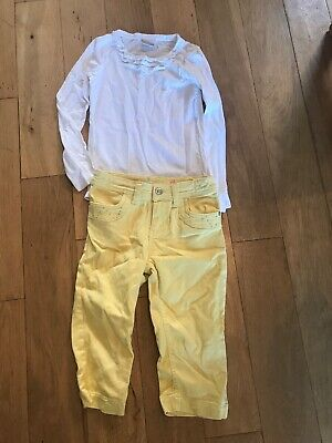 Girls Trousers And Top Age 7-8