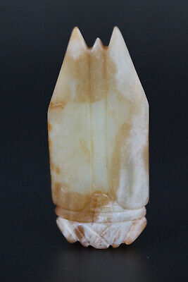 One Fine Chinese Ancient Han Jade Carving Cicada Pendants 0039