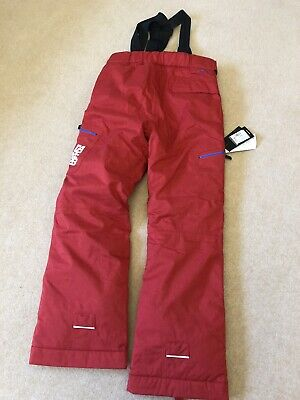 New Boys Girls Dare2B Spur On Snow, Ski Trousers, Age 13-14, Code Red,