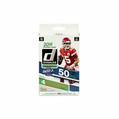 2019 Donruss NFL Football Factory Sealed Hanger Box 50ct