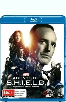 MARVEL'S AGENTS OF SHIELD Season 5 (Region Free) Blu-ray The Complete Series