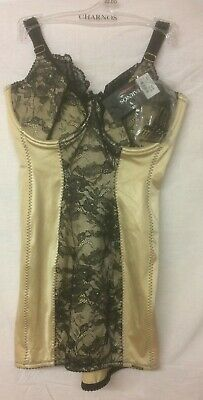 BNWT Charnos Hourglass Corselette in Berry or Platinum
