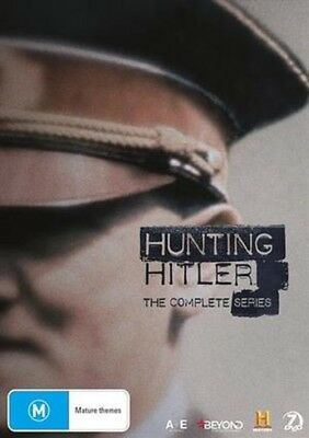 HUNTING HITLER - THE COMPLETE SERIES 1 2 & 3   -  DVD -UK Compatible