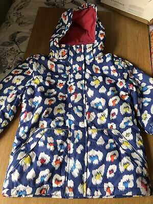 marks and spencer Girls Ski Jacket Coat Age 7-8 Perfect Condition