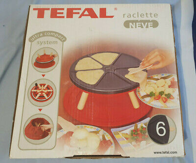 Tefal Raclette Grill 6 - New