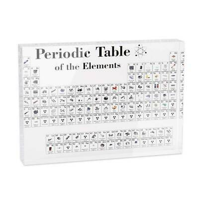 Periodic Table of Elements Educational Chart for Teaching Home Decor Xmas Gift