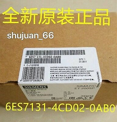 1Pcs Siemens  6Es7131-4Cd00-0Ab0 / 6Es7 131-4Cd00-0Ab0 New In Box Fast Delivery
