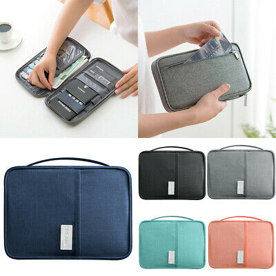 Travel Document Case Wallet Family Passport Holder Creative Waterproof Organizer