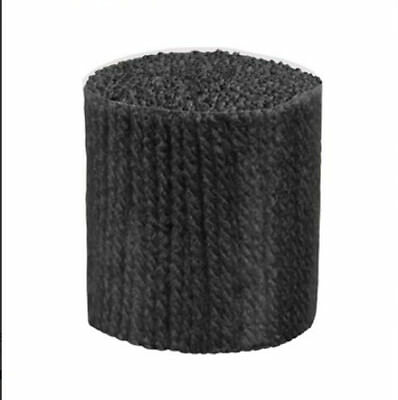 """Latch Hook Yarn - Carbon Approx  400 strands 3ply 2.5"""" long Use on 4.5hpi canvas"""