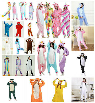 Adult Kids Unicorn Onesie00 Animal Costume Cosplay Pyjamas Slipper Sleepwear PJ