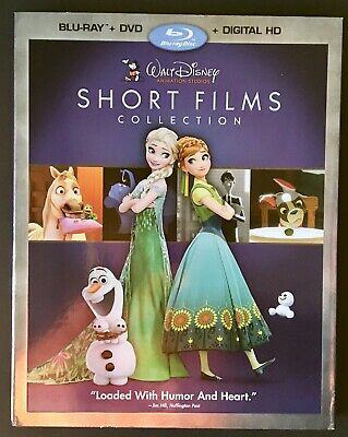 Walt Disney Short Film Collection incl Frozen Fever NEW & SEALED Blu-ray & DVD