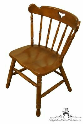 TELL CITY Colonial Style Solid Hard Rock Maple Dining Side Chair 8018 w. #48 ...