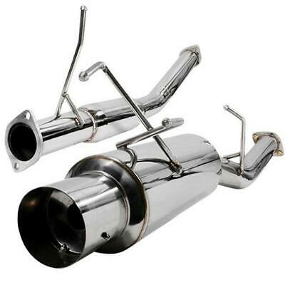 Spec-D Tuning MFCAT3-240SX89 3 in. Inlet N1 Style Catback Exhaust System for ...