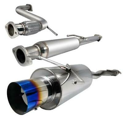 Spec-D Tuning MFCAT2-ACD94T-SD 2.5 in. Inlet N1 Style Catback Exhaust with Bu...
