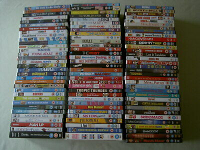 Job lot collection of 100 Comedy Film UK DVDs all EX/NM