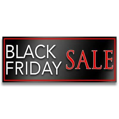Black Friday Sale Vinyl Banner (Size Options)