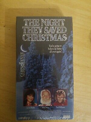 BRAND NEW The Night They Saved Christmas VHS Tape Jacklyn Smith Art Carney