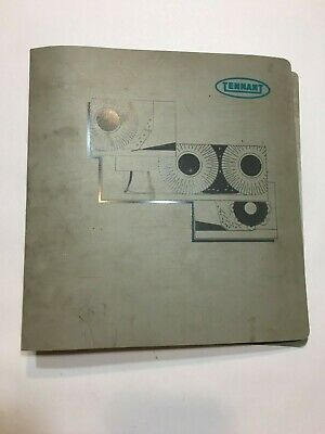 Tennant 355 Operator & Parts Manuals - Rev. 03 6/93 - Fast Free Ship!