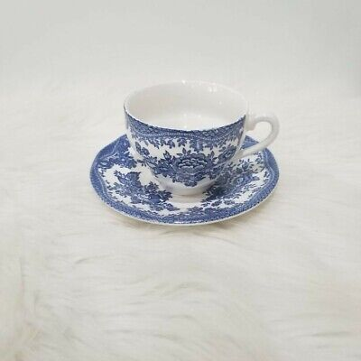 Enoch Wedgewood Tunstall Ltd Asiatic Pheasants Tea Cup And Saucer