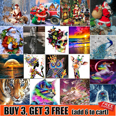 5D Diamond Painting Embroidery Cross Craft Stitch Pictures Arts Kit Decor NV