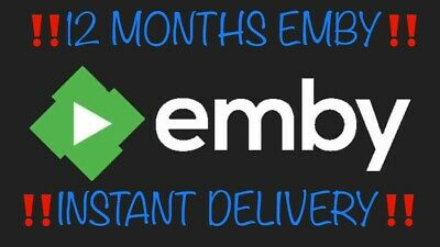 ‼️INSTANT DELIVERY‼️ EMBY VOD12 MONTHS FULL