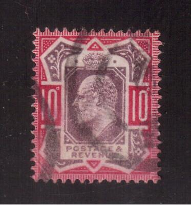 Great Britain 1902 Used # 137 King Edward Vii !! D79
