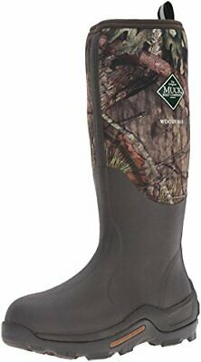 Muck Boot Woody Max Rubber Insulated Men's Hunting Boot Size  8 Mossy Oak