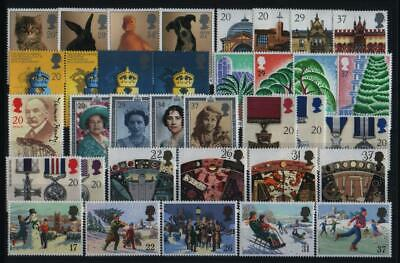 Gb Complete Year All 9 Sets Commemorative Stamps Issued In 1990 Unmounted Mint