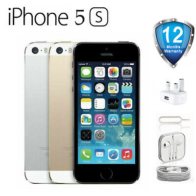 Sealed Apple iPhone 5s - 16/32/64GB - Gold/Silver/Grey (Unlocked) - Factory New!