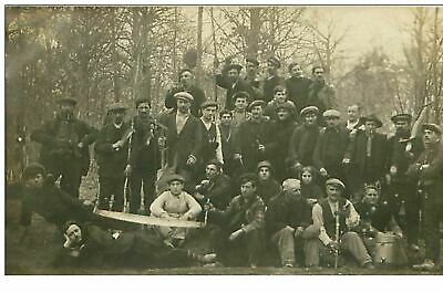 60.Henonville.n°251.Cp Photo.ouvriers Agricoles
