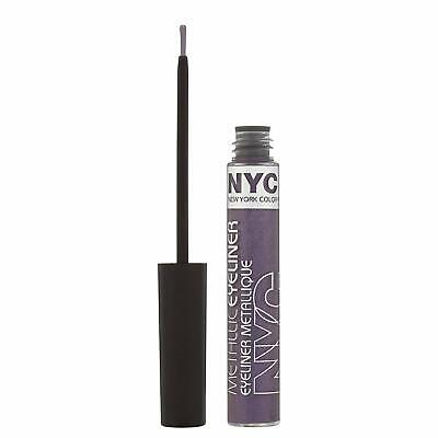 6 x NYC Liquid Metallic Eyeliners | 862 Serpentine Purple | Wholesale Job Lot