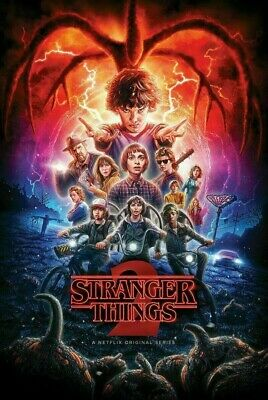Stranger Things Season 2 (DVD, 3-Disc Set)  Free and Fast Shipping! NEW!!!