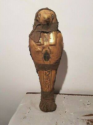 Rare Antique Ancient Egyptian Statue God Horus Protection Sky Unify 1850-1770BC