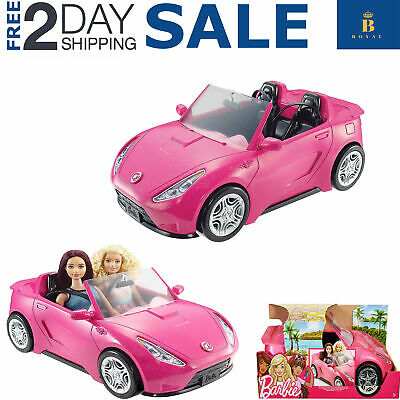 Barbie Glam Convertible Pink Car Doll Mattel Vehicle and Toy Seats Hot Gift New