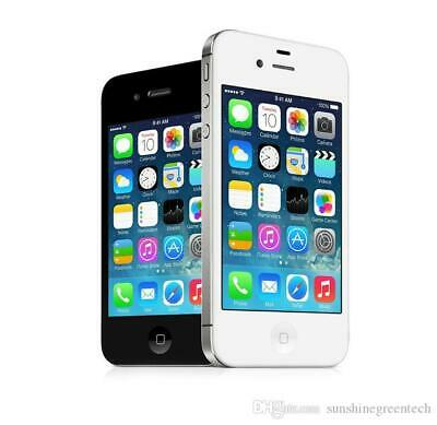 Apple iphone 4S 8GB /16GB Black & White (Unlocked) Pristine Condition