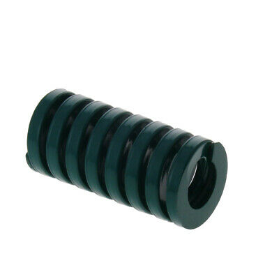 OD 20mm ID 10mm Heavy Load Mold Spring Stamping Compression Green 25-65mm Long