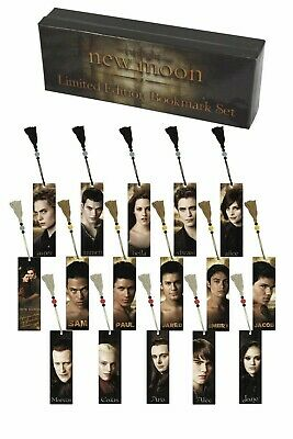 Twilight New Moon Limited Edition Bookmark Set (new/sealed in Box)