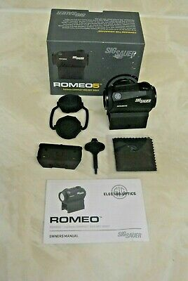 Sig Sauer ROMEO5 1x20mm compact Red Dot Sight SOR52001 with box working