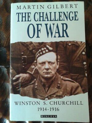 Churchill, Winston S.: Challenge of War v. 3 by Gilbert, Martin Hardback Book