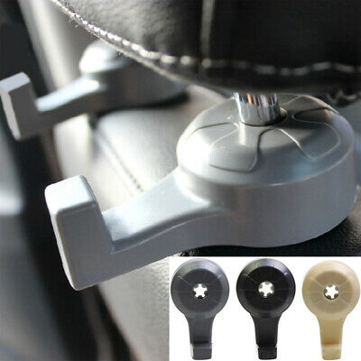 Car Chair Hanging Seat Back Headrest Hook Dual Organizer Hanger Holder Clip Trim