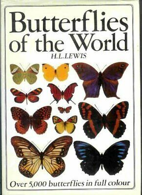 Butterflies of the World by Lewis, Hilary Leonard 0946495440 The Cheap Fast Free