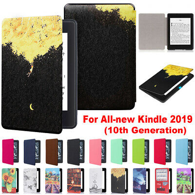 e-Reader PU Leather Smart Magnetic Case Cover For All-new Kindle 10th Gen 2019