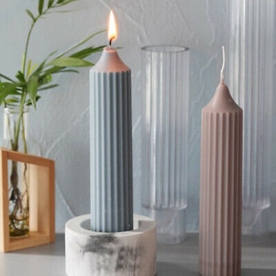 Long Pole Stripe Rack DIY Candle Molds Candle Making Mould Handmade Soap Molds