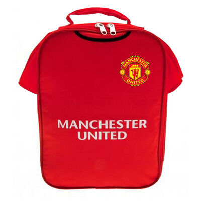 Manchester United FC Official Kit Lunch Bag