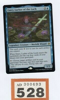 MTG Magic the Gathering - Emry, Lurker of the Loch - Foil - Throne of Eldraine